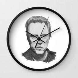 christopher walken Wall Clock