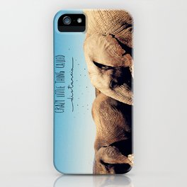 Crazy little thing called distancia  iPhone Case