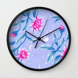 Queen of the Night - Mauve / Pink Wall Clock
