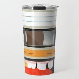 The cassette tape golden tooth Travel Mug