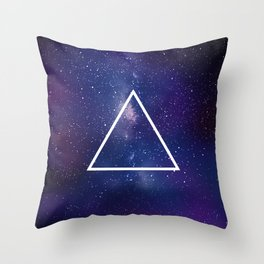 Space Geometry 1 Throw Pillow