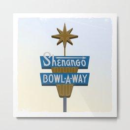 Shenango Bowling Metal Print