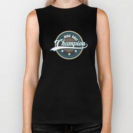 Disc Golf Champion T-Shirt Biker Tank