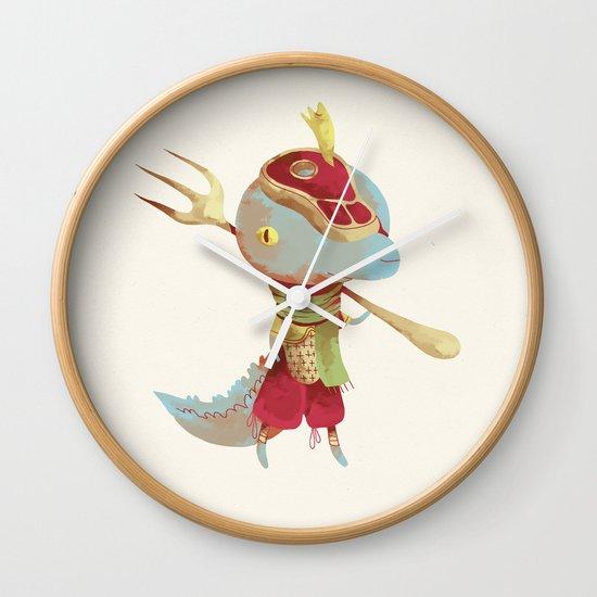 Dusteak Wall Clock
