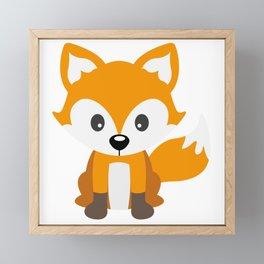 Sly Fox Framed Mini Art Print