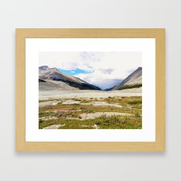 View from Icefields Framed Art Print