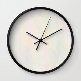 Pastel Realness Wall Clock