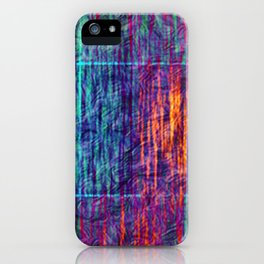 Floating Lines iPhone Case