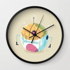 :::Mini Robot-Sfera2::: Wall Clock