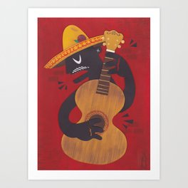 El Musico Art Print