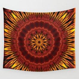 Mandala of Surya the Sun God  Wall Tapestry