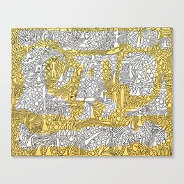Alibi Canvas Print