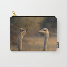 Two Heads Carry-All Pouch