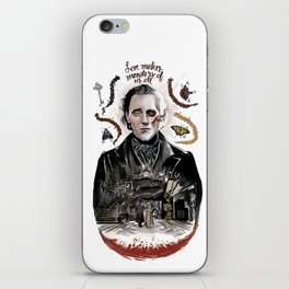 Love Makes Monsters of us All iPhone Skin