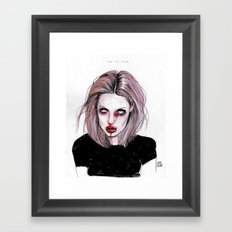 Angelina J Framed Art Print
