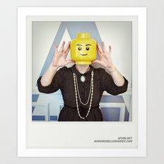 Minifig me ! – Everyone has a LEGO piece inside - 15 Art Print