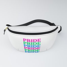 Pride Polysexual Flag Fanny Pack