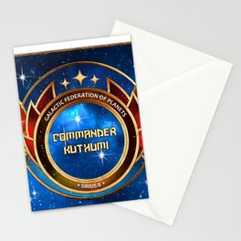 Commander Kuthumi - Series 1 Stationery Cards
