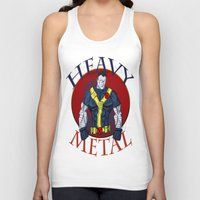 heavy metal Tank Tops featuring Heavy Metal by Iron King