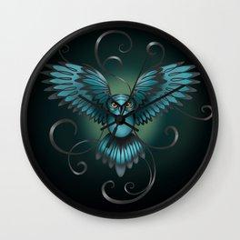 The Great Night Owl Of Kilmartin Wall Clock