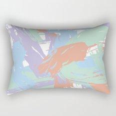 Pastel Paint Rectangular Pillow