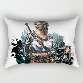 Ciri 2 - The Witcher Wild Hunt  Rectangular Pillow