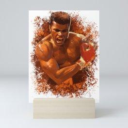 The People's Champ Mini Art Print