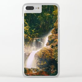 Stream of Light Clear iPhone Case