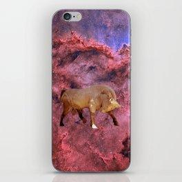 Taurus and Nebula iPhone Skin