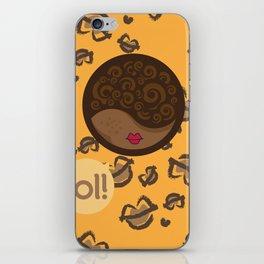 AFRO-LOLITA iPhone Skin