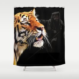Shiva Tribute Shower Curtain