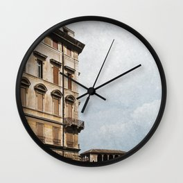 Living in Rome Wall Clock