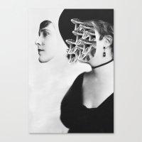 inner demons Canvas Prints featuring Inner Demons by Tyler Spangler