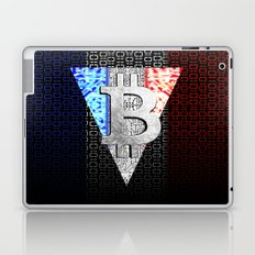 bitcoin france Laptop & iPad Skin