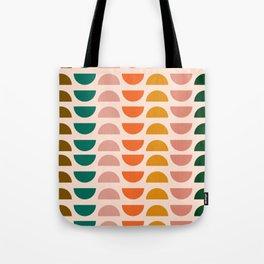 Retro 70s Geometrics Tote Bag