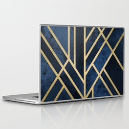 Art Deco Midnight Laptop & iPad Skin