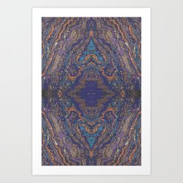BANDED IRON FORMATION Art Print