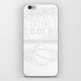 BOUNCE IT TANK TOP iPhone Skin