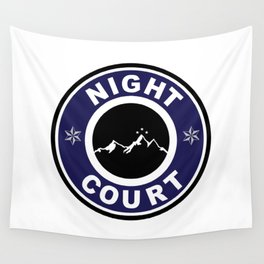 Night Court Wall Tapestry