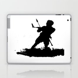 Board Out Of Your Mind Wakeboarding Silhouette Laptop & iPad Skin