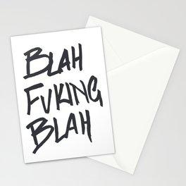 BLAHFUCKINGBLAH Stationery Cards