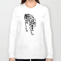 hunter Long Sleeve T-shirts featuring Hunter by Stevyn Llewellyn
