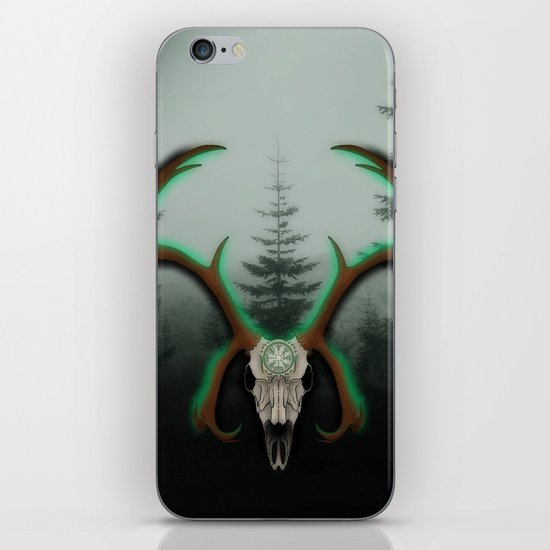 C-1 Horns iPhone & iPod Skin
