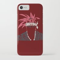 bleach iPhone & iPod Cases featuring renji abarai bleach by Rebecca McGoran