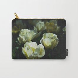 White Tulips in the Sunlight Carry-All Pouch