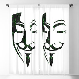 Anonymous Blackout Curtain