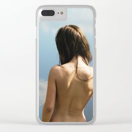 Born Free Clear iPhone Case