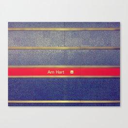Munich U-Bahn Memories - Am Hart Canvas Print