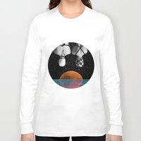 pool Long Sleeve T-shirts featuring Planet Pool by Cs025