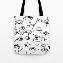 Tracking Eye Movements Tote Bag